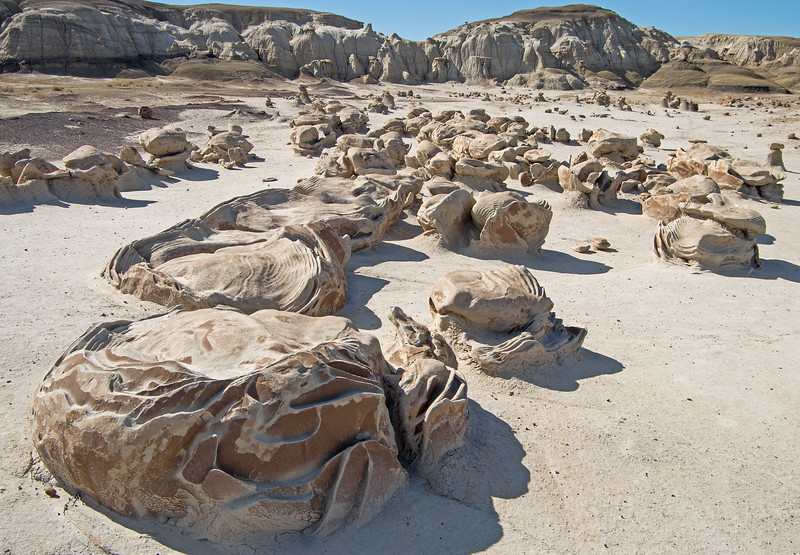 "A particular point of interest are these bizarrely eroded boulders, known as the ""Cracked"" or ""Dinosaur"" eggs."
