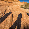 Shadow play, Arches NP