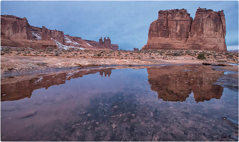 Courthouse Towers, Arches NP