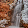Faux falls, near campground, Moab, UT