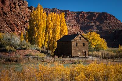 Rural Utah Fall