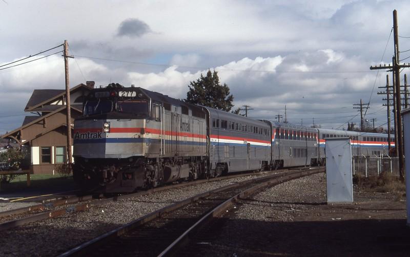 Amtrak-277_Vancouver-Washington_Nov-22-1987_Don-Strack-photo