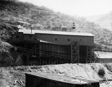 Utah-Apex Tramway Lower Terminal, 1914