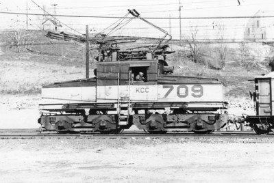 Kennecott 709. Copperton. 1972. (Don Strack Photo)