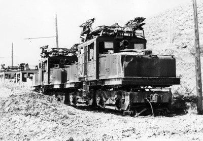 Kennecott 715 in Bingham dead line. 1972. (Don Strack Photo)