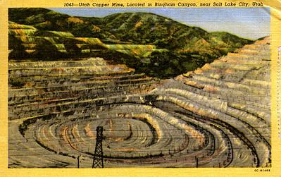 Bingham Canyon (postmarked 1953)
