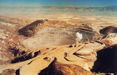 Bingham Copper Mine Postcard 1993_2