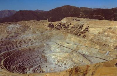 Bingham Copper Mine Postcard 1993_1