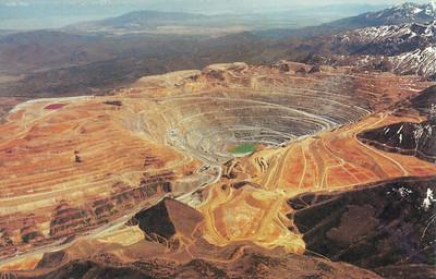 Bingham Copper Mine Postcard 1993_5