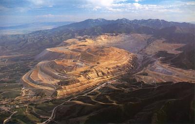 Bingham Copper Mine Postcard 1993_4
