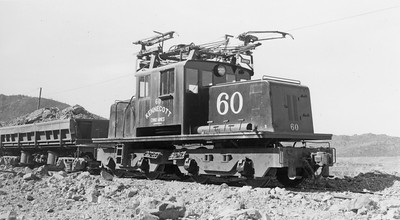 KCC-Chino_60-with-train_santa-rita_May-4-1951_will-whitaker-photo_steve-swanson-collection