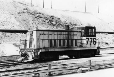 KCC GE 70-ton 776. Copperton.