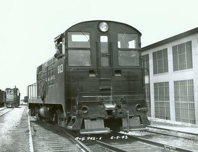 Bingham & Garfield VO-1000 803. June 1943.