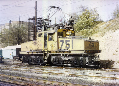 Kennecott 751. November 6, 1965. (Steve Swanson Photo)
