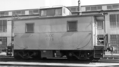 Kennecott caboose 014. Magna. September 4, 1949. (Will Whitaker Photo, Steve Swanson Collection)