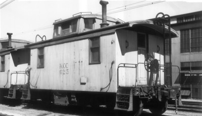 Kennecott caboose 023. Magna. September 4, 1949. (Will Whitaker Photo, Steve Swanson Collection)