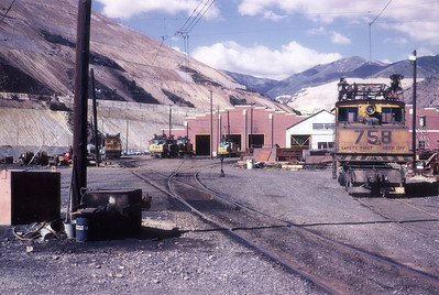 Kennecott Dry Fork Shops. June 1966. (Steve Swanson Photo)