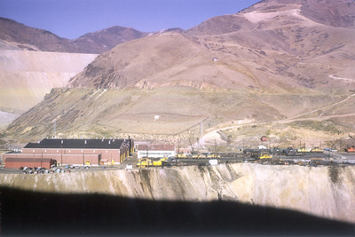Kennecott Dry Fork Shops. November 1965. (Steve Swanson Photo)