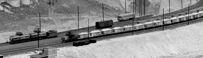 Copperton Yard, April 1948