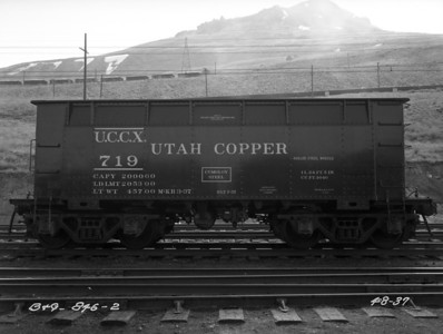 Utah Copper 719, April 1937 (New)