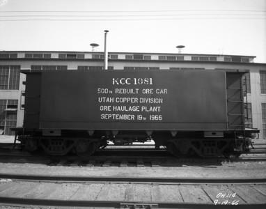 Utah Copper Ore Cars
