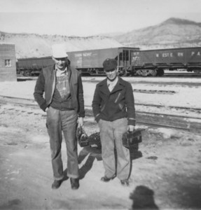 Bill and Charlie. (Bill Shaff Collection)