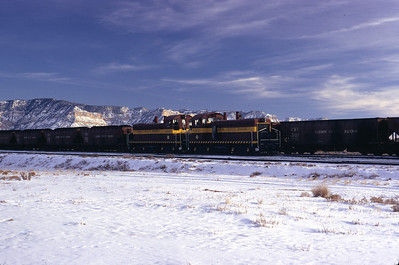 Carbon County, Columbia Junction, December 1972. (Don Strack Photo)