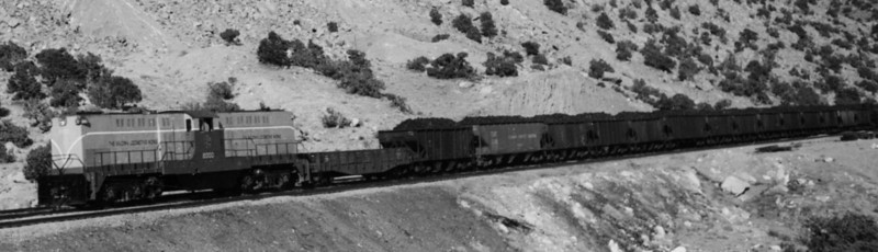Baldwin demonstrator 2000 on Carbon County Railway, April 1949. (Bill Shaff Collection)