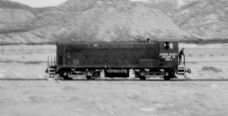 Carbon County 262-1. (Bill Shaff Collection)