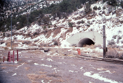 Geneva mine portals. February 15, 1987. (Don Strack Photo)
