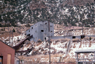 Geneva mine conveyor, mine to preparation plant. February 15, 1987. (Don Strack Photo)