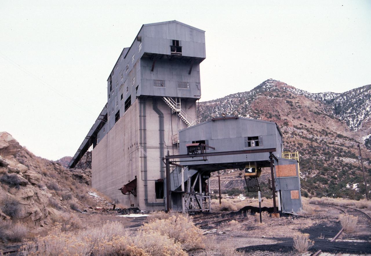 Geneva mine loader. February 15, 1987. (Don Strack Photo)