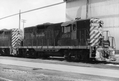 D&RGW GP9 5903, Roper. (Don Strack Photo)
