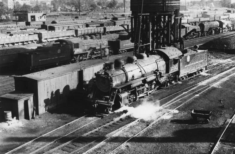 D&RGW 1202, Salt Lake City, 1936.