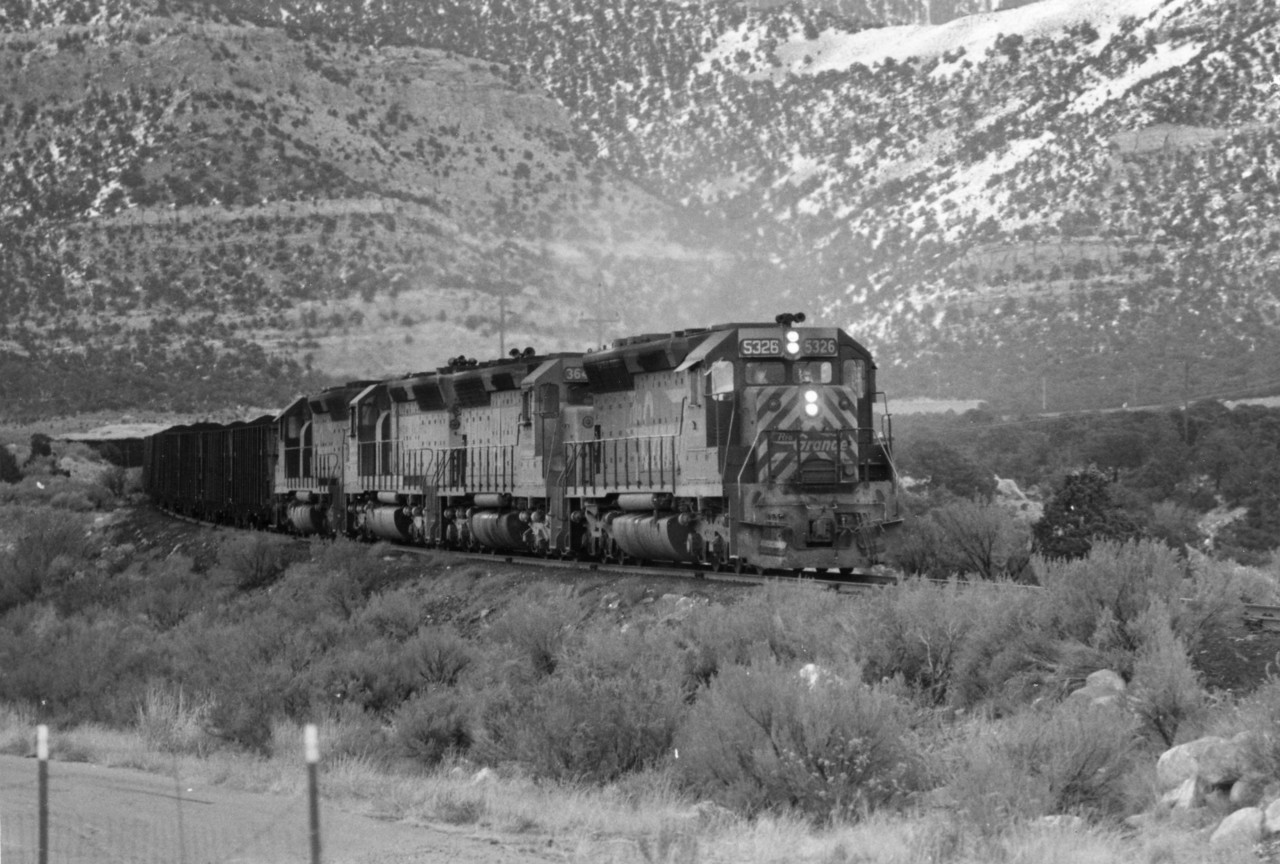Kaiser K Train, Sunnyside, 1971. (Don Strack Photo)