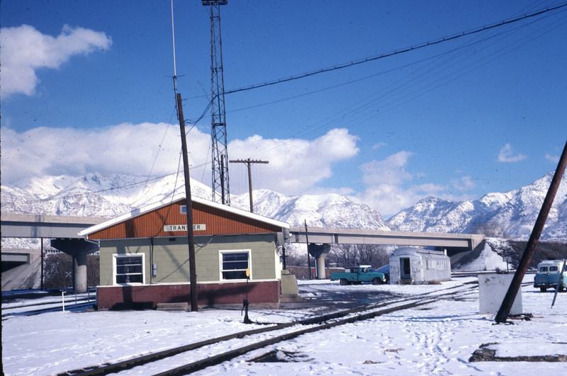 D&RGW yard office. February 1978. (Warren Johnson Photo)