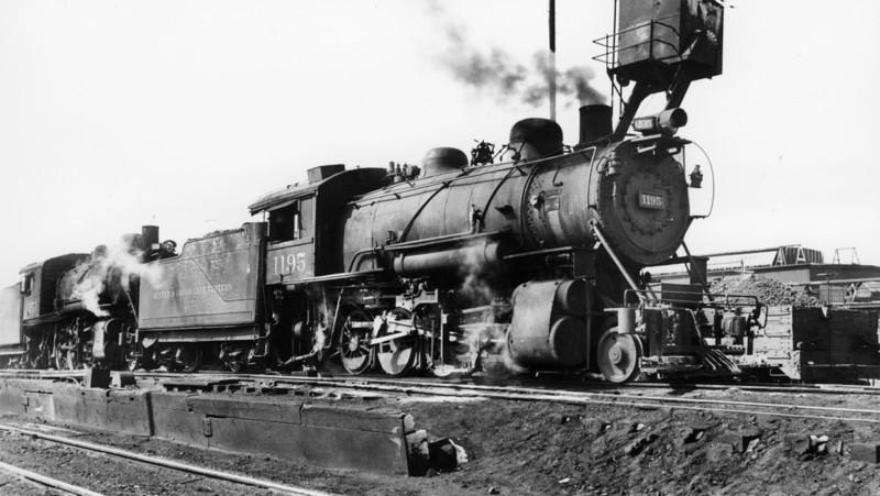 D&RGW 1195, Salt Lake City.