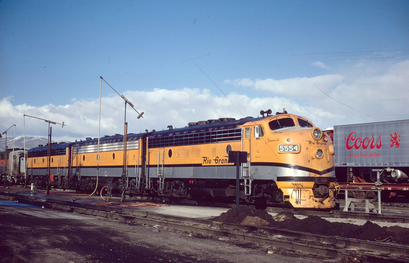 F3 5554 at Roper. March 1967. (Dave England Photo)