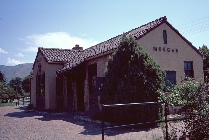 UP Morgan depot. September 1973. (Dave England Photo)