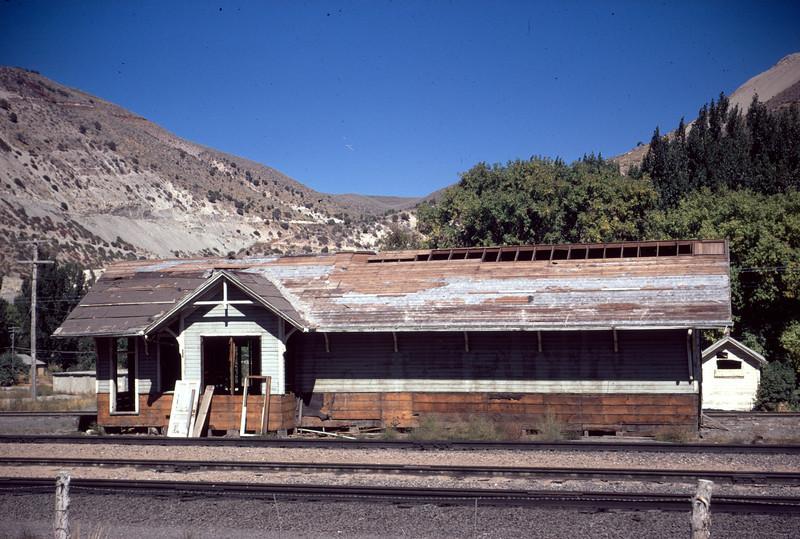 UP Devils Slide depot. (Dave England Photo)