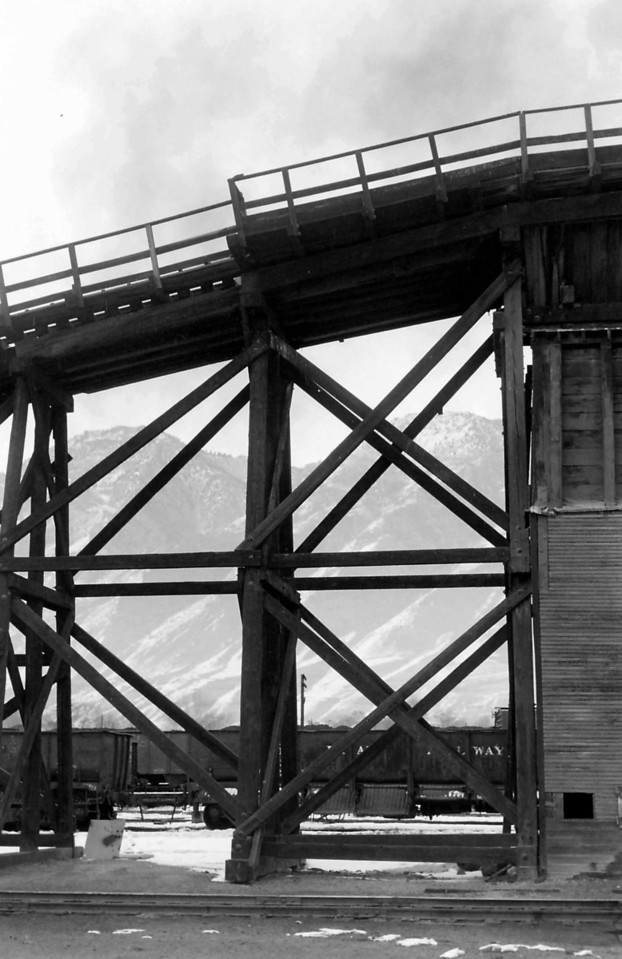 UP Provo coal trestle. (Dave England Photo)
