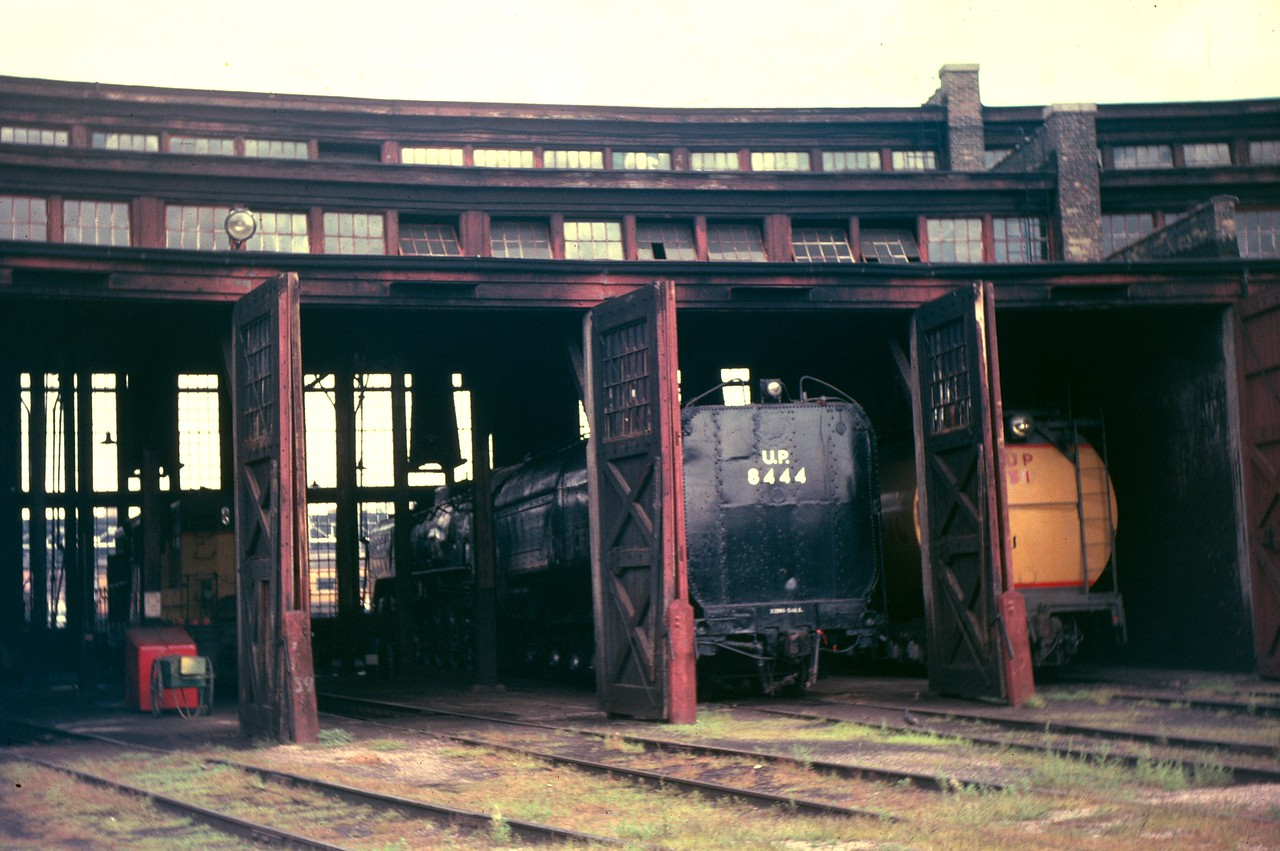 UP Cheyenne roundhouse. September 1962. (Dave England Photo)