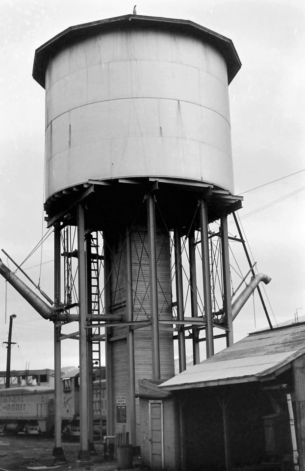 UP Provo water tower. (Dave England Photo)