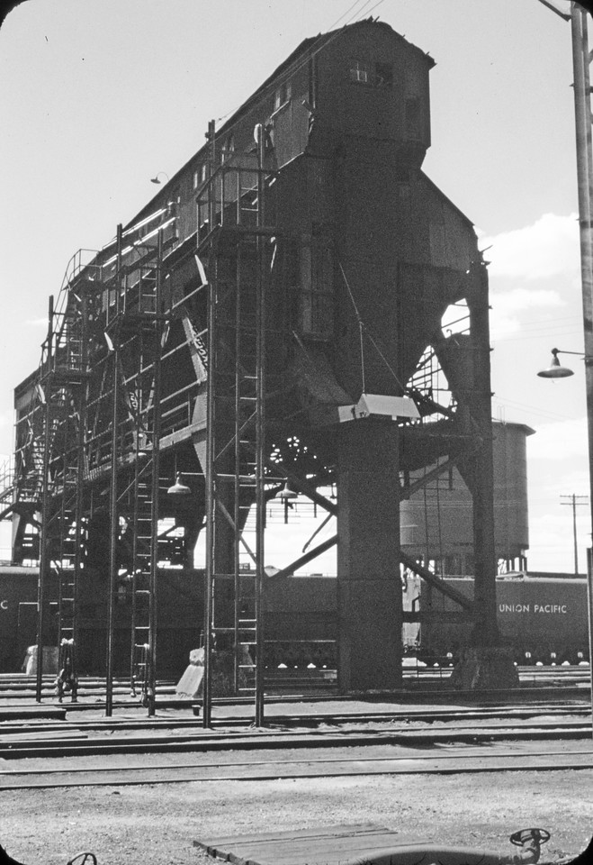 UP coaling station. (Dave England Photo)