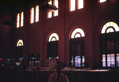 Ogden Union Station. September 1966. (Dave England Photo)
