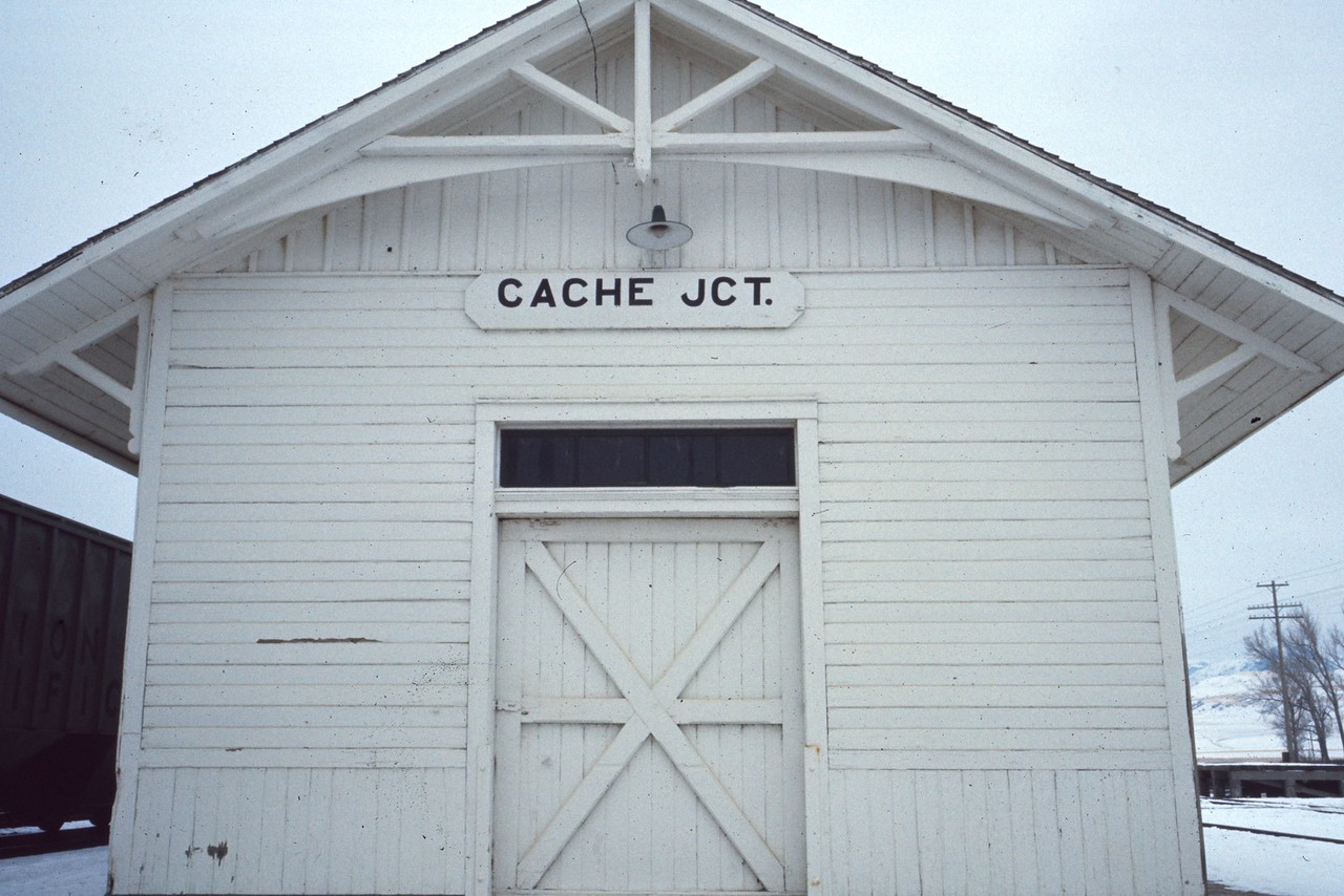 UP Cache Junction depot. (Dave England Photo)