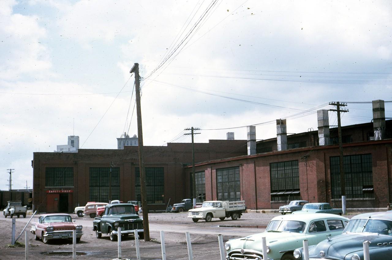 UP Ogden roundhouse. June 1964. (Dave England Photo)