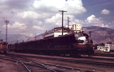 SP 6265 entering Ogden yard. August 1965.