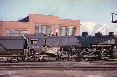 UP 5511, Ogden. (Dave England Photo)