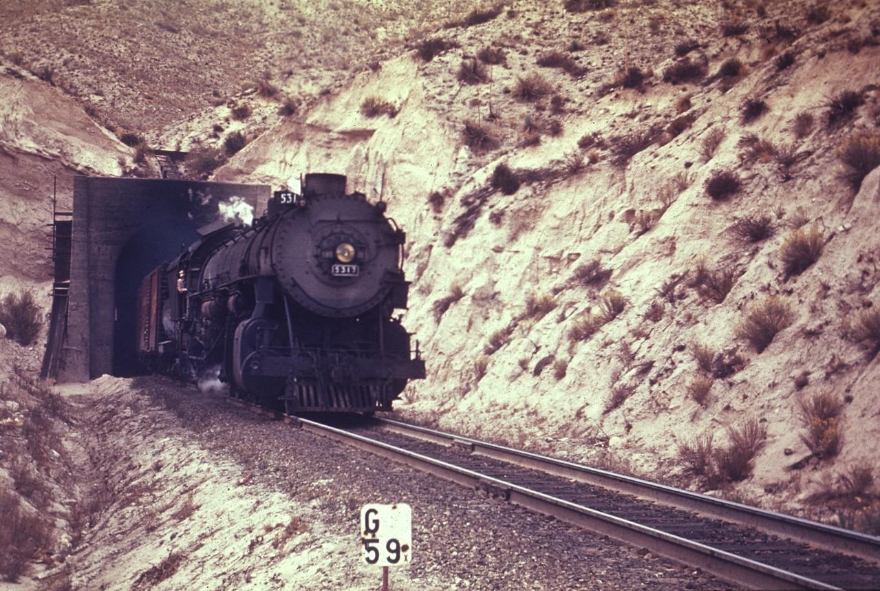 UP 5317, Cajon. (Chard Walker Photo, Dave England Collection)